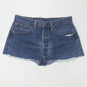 Levi's 501 Cuff Offs Shorts Broken In 32 30